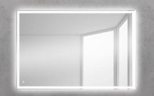 Зеркало BelBagno SPC-GRT-500-600-LED-TCH 50 x 60 см со встроенным светильником и сенсорным выключателем