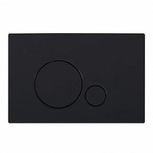Кнопка смыва BelBagno SFERA, цвет-черный матовый Tocco Morbido
