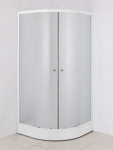 NG-003-08N Душевой уголок Niagara, 80 x 80 x 195 см, стекло матовое