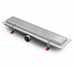 ALP-1050/50KN Душевой водоотводящий желоб с рамкой Alpen Klasic/Floor 1050 мм хром глянцевый