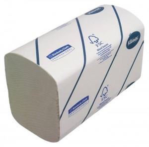 Бумажные полотенца Kimberly-Clark Kleenex Ultra 6777 (Блок: 30 уп. по 124 шт)