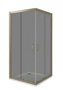 ДЖ00041 Душевое ограждение Good Door Infinity CR-100-C/WG-CH 100 х 100 х 185 см, хром