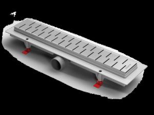 ALP-1050/50M1 Душевой водоотводящий желоб Alpen Medium 1050 мм хром матовый