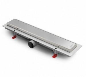 ALP-350KN Душевой водоотводящий желоб с рамкой Alpen Klasic/Floor 350 мм хром глянцевый