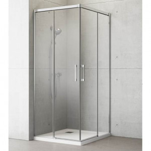 387061-01-01L/387061-01-01R Душевой уголок Radaway Idea KDD 80 x 80 см, стекло прозрачное