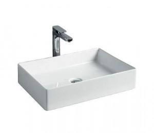 SCL002 01; 00 Раковина ArtCeram Scalino 55, накладная, цвет - белый глянцевый, 55 х 38 х 11,5 см