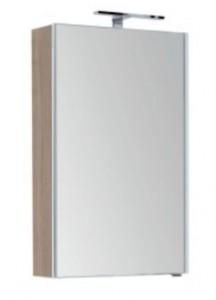 Зеркало-шкаф Aquanet Августа 00210009 58x90 см настенное, дуб сонома
