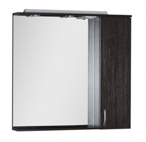 Зеркало-шкаф Aquanet Донна 90 00169179, цвет венге