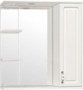 Зеркало-шкаф Style Line Олеандр-2 75/С Люкс, рельеф пастель