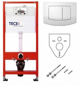 К 400 200 Инсталляция для подвесного унитаза TECE Ambia K400200, 4 в 1