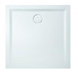 4201xA Душевой поддон Hoesch MUNA 110 x 110 x 3 см, квадратный, из искусственного камня