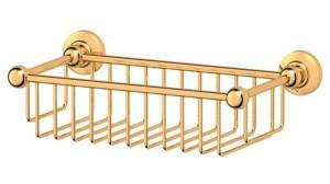 Полочка-решетка 3SC Stilmar STI 207 31 см, золото
