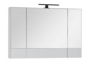 Зеркало-шкаф Aquanet Верона 100 (камерино) 00175383, цвет белый