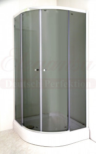 GREY 5122 Душевой уголок Elegansa KREIS, 90 х 90 х 190 см, стекло тонированное