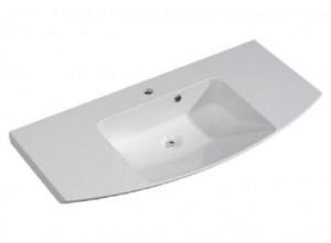 CS-MMWTR51-1410-w Раковина Pelipal Cassca 141 x 50.5 см, мрамор, белая