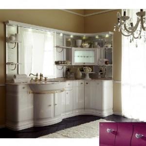 Комплект мебели Eurodesign Luxury Композиция № 2, Prugna Lucido/Сливовый глянцевый