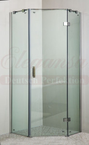 Душевой уголок Elegansa TRAPEZ TR. 331 100 x 100 х 200 см, стекло прозрачное