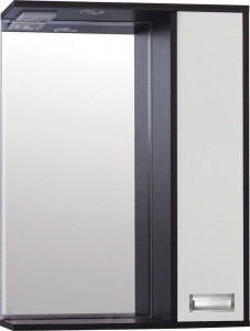 Зеркало-шкаф Style Line Эко Стиль W Панда 60/С белый/венге