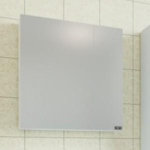 Зеркальный шкаф СаНта Стандарт 70 113008, цвет белый