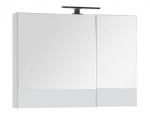 Зеркало-шкаф Aquanet Верона 90 (камерино) 00172339, цвет белый