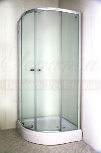 KREIS TR.5122 Душевой уголок Elegansa, 90 х 90 х 190 см, стекло прозрачное