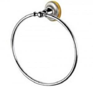 Кольцо Migliore Mirella ML.MRL-M056.CRDO - хром/золото