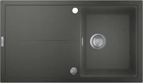 31640AT0 GROHE K400 Раковина для кухни, 860 x 500 мм, серый гранит