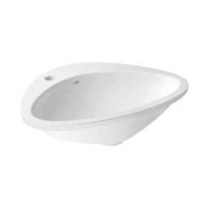 42310000 Раковина Axor Massaud, 58.5 х 46.9 х 16.1 см накладная, цвет белый