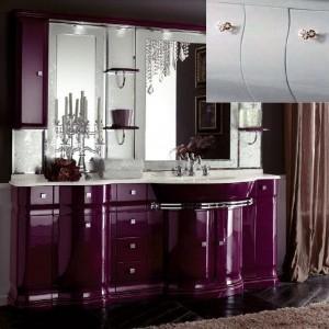 Комплект мебели Eurodesign Luxury Композиция № 8, Grigio Lux Lucido/Серый глянцевый