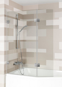 GC61200 Стеклянная шторка для ванны Riho Scandic S500 112 x 150 см