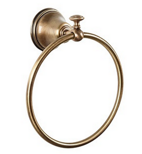 Полотенцедержатель кольцевой ALL.PE Harmony HA015br, бронза