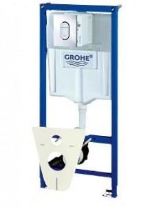 38929SH0 GROHE Rapid SL Инсталляция для подвесного унитаза 4 в 1