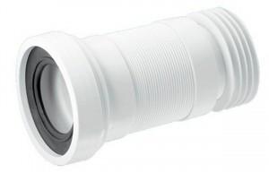WC-F20R Труба фановая (гофра) для унитаза McAlpine, 200-330 мм