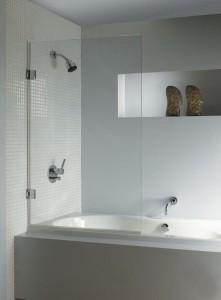 GC57200 Шторка для ванны Riho Scandic S108 75 x 150 см универсальная