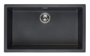 R30882 Мойка кухонная Reginox Amsterdam 72 78 x 46 см Black Silvery