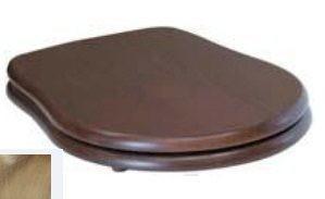 109340 noc/br Крышка-сиденье Kerasan Retro 109340 standart, орех/бронза