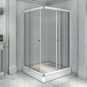 1-03-1-0-0-1191 Душевой уголок Radomir 100, 100 х 100 х 196, стекло прозрачное/матовое