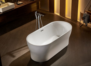 BELBAGNO Акриловая ванна BelBagno BB405-1500-800
