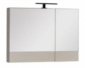 Зеркало-шкаф Aquanet Нота 90 (камерино) 00158858, цвет светлый дуб