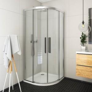 561-9000000-00-02 Душевой уголок Roltechnik Exclusive Line ECR2N/900,  90 х 90 см, стекло прозрачное