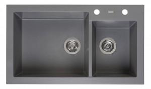 R31094 Мойка кухонная Reginox Amsterdam 25 85 x 50 см Grey Silvery