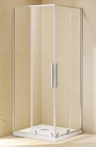 TOLEDO C90.20 Cromo Душевой уголок Alvaro Banos, 90 х 90 х 220, стекло прозрачное