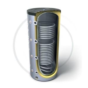 Буферная емкость с двумя теплообменниками Tesy PR2 200 л.