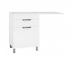 ЛС-00000645 Тумба под раковину Style Line Жасмин 60, белая