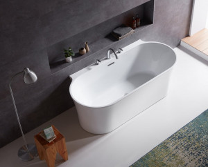 BELBAGNO Акриловая ванна BelBagno BB409-1500-800