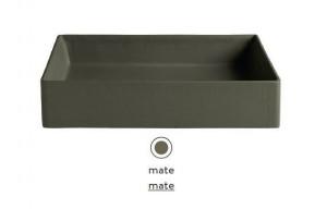 SCL001 24;00 Раковина ArtCeram Scalino 38, накладная, цвет - mate, 38 х 38 х 11.5 см