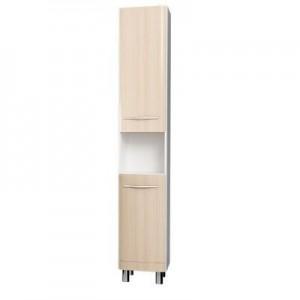 Шкаф-пенал напольный Velvex Iva 200 светлый лен