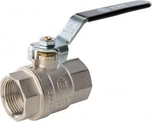 SVB-0001-000025 Шаровый кран Stout SVB-0001 1 вн-вн, полнопроходной, ручка рычаг