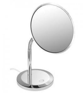 Настольное косметическое зеркало Keuco Kosmetikspiegel 17677 019000 с 5-ти кратным увеличением