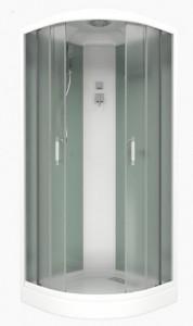 BasAlbaEco-white Душевая кабина Bas Альба Эко, 100 x 100 см